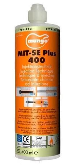 MIT-SE (Plus) Винилэстеровая смола, без стирола, картридж 400 мл.