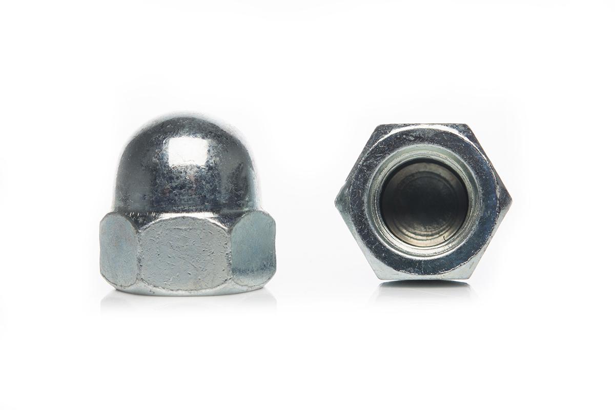 Гайки колпачковые из нержавеющей стали DIN 1587 А2 - фото 1