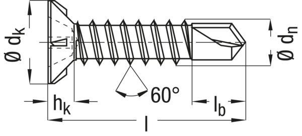 Саморезы для паркета со сверлом (CFB) белый цинк