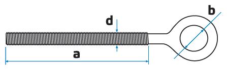 Кольца с метрической резьбой