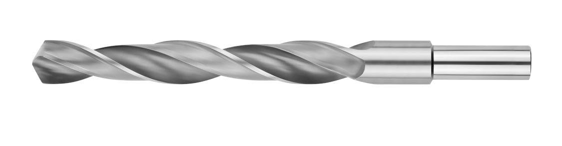 Сверло по металлу с проточенным хвостовиком